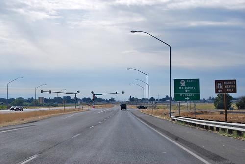 US 12 @ SR 124 west terminus