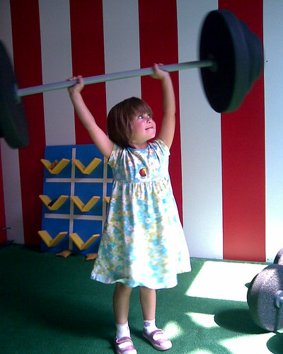 World's strongest kid