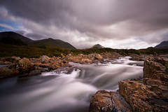 Sligachan Long Exposure Reworked (David Kendal) Tags: longexposure bw motion river landscape movement stream isleofskye scottish nd waterblur sligachan xpo neutraldensity glensligachan watermovement 10stop nd1000 nd110 nd30 riversligachan