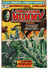 The Living Mummy 9 (Todd Wilson) Tags: comics mummy marvelcomics