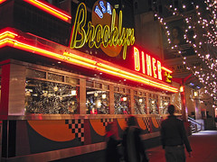 New York. West 57th Street. Brooklyn Diner by Tom�s Fano, on Flickr
