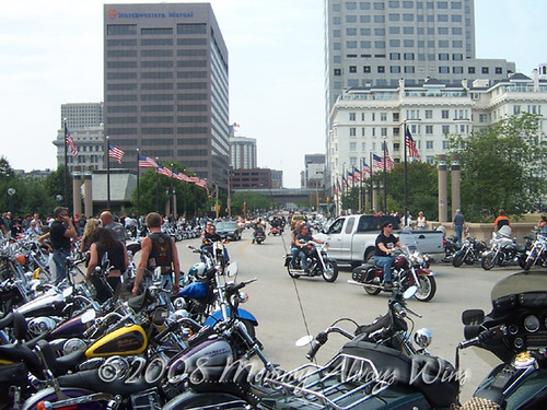 Bikes in the business district