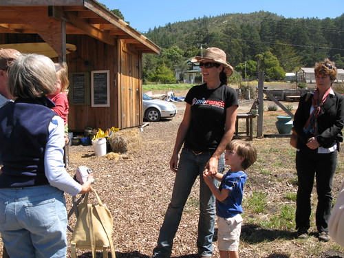 Nancy Vail, the Farm Manager at Pie Ranch