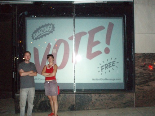 Vote! MYOM / Spontaneous Storefront
