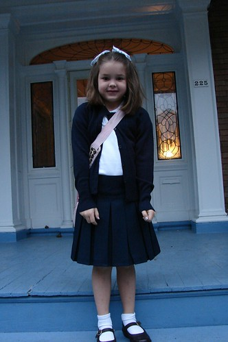 Maia's First Day of Schol '08