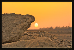 Sunset at the Desert City (Maverick :: Photography) Tags: park sunset color nature look sunrise landscape amazing scenery perfect desert dunes sony cliffs erosion saudi arabia geography dslr riyadh saudiarabia hdr daybreak eroded industrialcity cebusugbo onlythebestare pinoyhdr sonyalphadslra200 philippinephotographicsociety