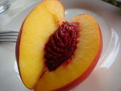 Peach Fruit (SaudiSoul) Tags: fruit peach