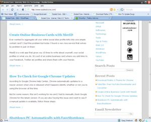 Tema do Google Chrome para o Firefox