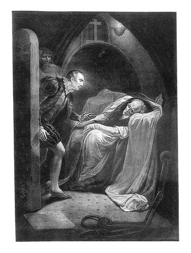 10- Primera parte de Enrique VI- Act II Esc V- La Torre de Londres- James Northcote