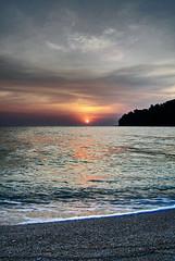 Sundown at Koh Adang, Feb 2008 (Chazynash) Tags: sunset sea beach photoshop thailand island 2008 hdr lipe photomatix kohlipe kohadang hdrsurreal adang chazynash