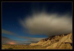 Tempus fugit * (martin zalba) Tags: espaa night stars spain desert estrellas nocturna desierto navarra bardenas sigma1020 weatherphotography canon50d martinzalba