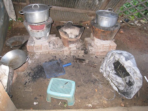 The kitchen stoves