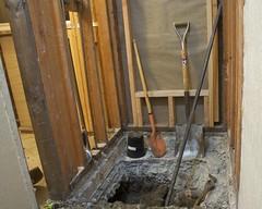Redoing the Shower Drain