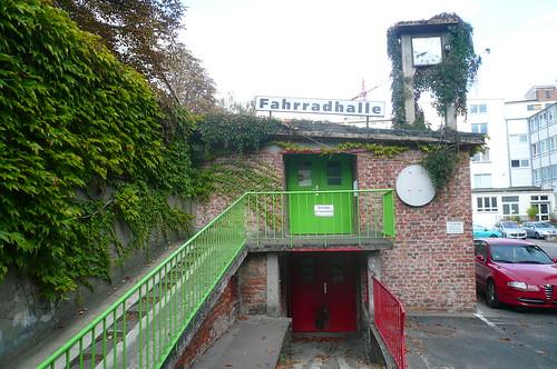 Kunstraum Fahrradhalle in Offenbach