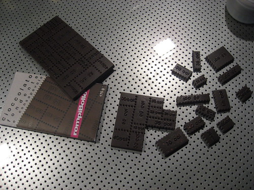 Rompibollo the weight watcher chocolate designed by AD&F Design Studio