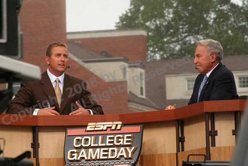 ESPN College Football Gameday in Athens GA