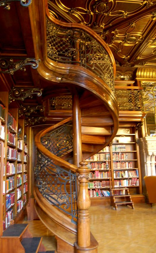 Szabo Ervin Library in Budapest, Hungary