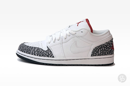 Air Jordan 1 Phat Low White Cement