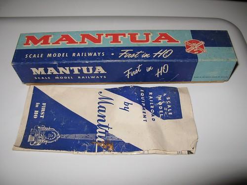 1962 Mantua box and brochure