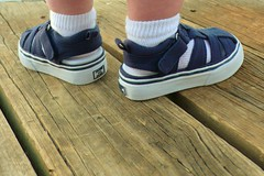 New shoes on (catherinelaceyphoto) Tags: family boy love girl children kid child father joy daughter mother son losangelesphotographer