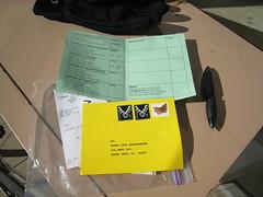 brevet card & post card