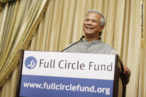 Nobel Prize winner Muhammad Yunus @ Full Circle Fund by orange photography