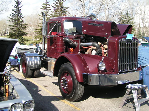 w/ 1927 Autocar dump truck   RYNAKIMLEY