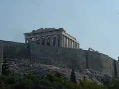Still approaching Parthenon
