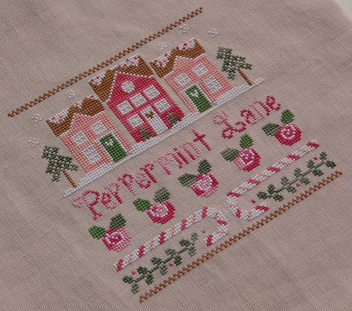 "Country Cottage Needlework ""Peppermint Lane"""