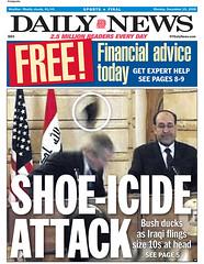 Atentado con zapato