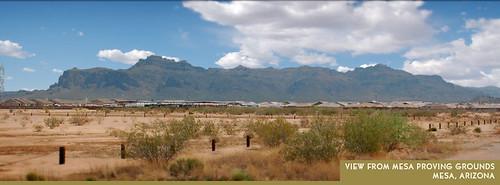 Mesa Proving Grounds development site (by: DMB Associates)