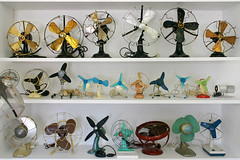 historical ventilators (Bundscherer) Tags: museum vintage fan furniture ventilator luft amberg regal ventilateur