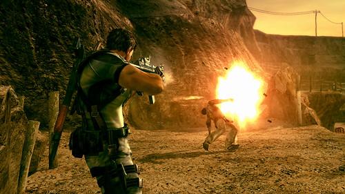 Resident Evil 5 rifle