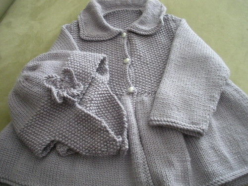 brunch jacket and bonnet