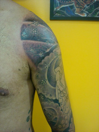 Eiji session 5 Arte e tattoo