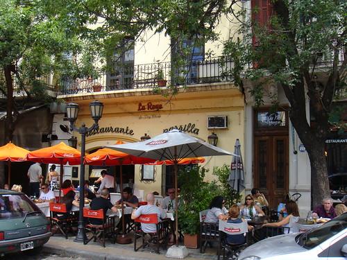 Vista exterior del restaurante - Terraza