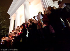 Choir at Candlelight Service