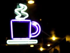 coffee neon
