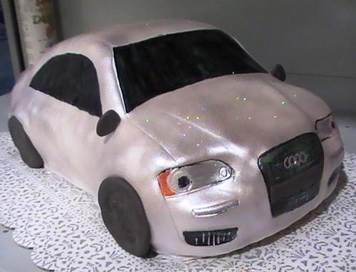 Audi A8 Car Cake