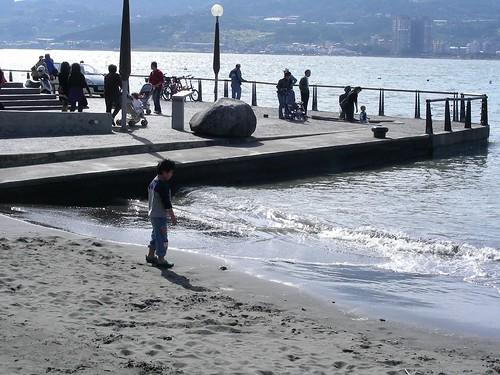 淡水碼頭-沙灘