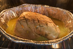 Pernil in the oven