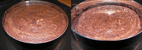Kuchen sackt beim Abkühlen zusammen