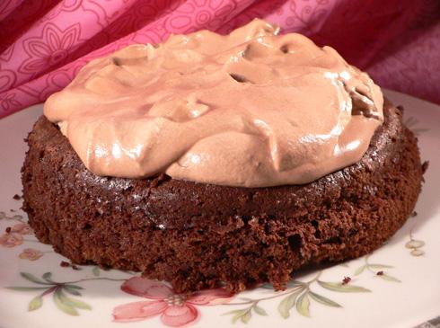 Schokoladewolkenkuchen