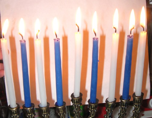 Final night of Chanukah