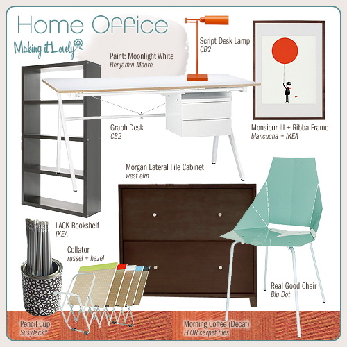 Home Office (MIY: Real Good Chair)