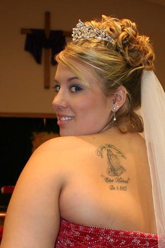 Wedding Dress and Celebrity Tattoo Ideas