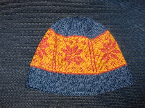 Hat with Selbu rose