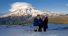 LPT_0334 (Lewis in Washington) Tags: snow hiking lewis mountrainier 2008 michèle scrambling plummerpeak lewismichele