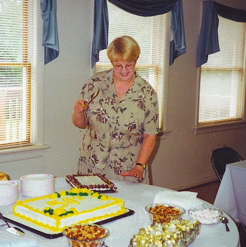 Me Cutting Cake