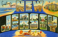 I'm not actually in New Jersey right now, only from there.
